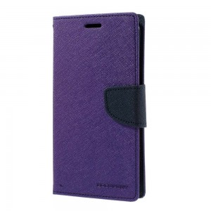 Samsung Galaxy S7 Edge - etui na telefon i dokumenty - Fancy purpurowe