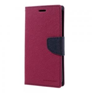 Samsung Galaxy S7 Edge - etui na telefon i dokumenty - Fancy różowe