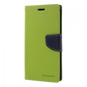 Samsung Galaxy S7 Edge - etui na telefon i dokumenty - Fancy zielone