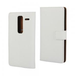 LG Zero H650 - etui na telefon i dokumenty - białe
