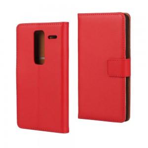 LG Zero H650 - etui na telefon i dokumenty - czerwone