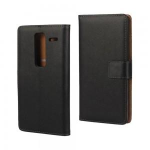LG Zero H650 - etui na telefon i dokumenty - czarne