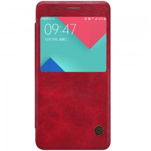 Samsung Galaxy A5 (2016) - etui na telefon - Nillkin Qin czerwone