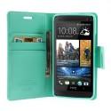 HTC One M7 Portfel Etui – Sonata Cyjan