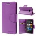 HTC One M7 Portfel Etui – Sonata Purpurowy