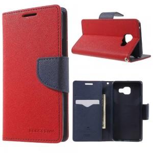 Samsung Galaxy A3 (2016) SM-A310F - etui na telefon i dokumenty - Fancy czerwone