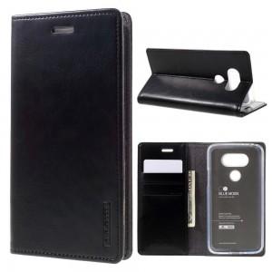 LG G5 H850 - etui na telefon i dokumenty - Blue Moon czarne V