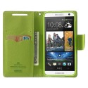 HTC Desire 610 Portfel Etui – Fancy Niebieski