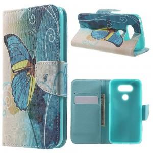 LG G5 H850 - etui na telefon i dokumenty - Motyle 1