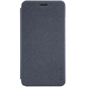 Huawei Y6 Pro - etui na telefon i dokumenty - Nillkin Sparkle czarne