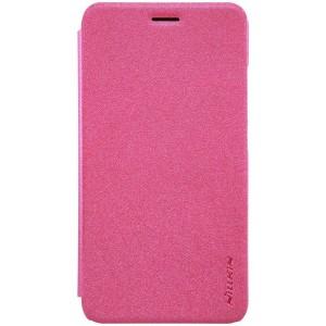 Huawei Y6 Pro - etui na telefon i dokumenty - Nillkin Sparkle różowe