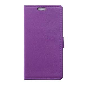 Huawei Y6 Pro - etui na telefon i dokumenty - fioletowe