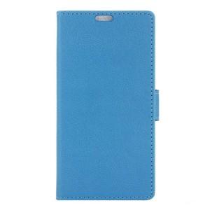Huawei Y5 II - etui na telefon i dokumenty - niebieskie