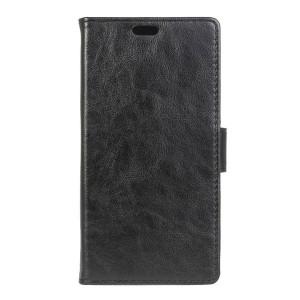 LG K4 4G - etui na telefon i dokumenty - czarne