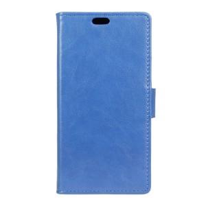 LG K4 4G - etui na telefon i dokumenty - niebieskie