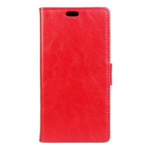 LG K4 4G - etui na telefon i dokumenty - czerwone