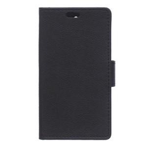 LG K8 4G - etui na telefon i dokumenty - czarne