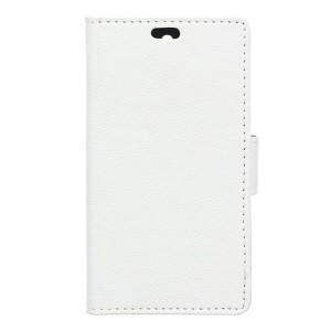 LG K8 4G - etui na telefon i dokumenty - białe