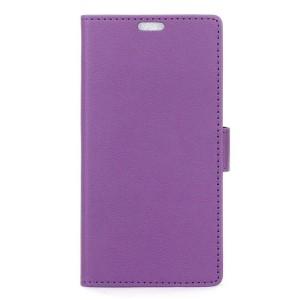 LG K8 4G - etui na telefon i dokumenty - fioletowe