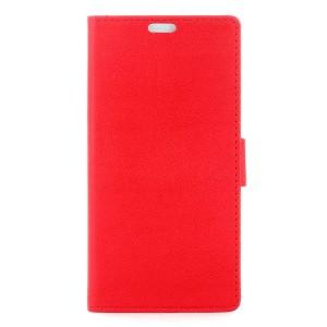 LG K8 4G - etui na telefon i dokumenty - czerwone
