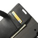 Huawei Ascend Y530 Portfel Etui – Litchi Czarne