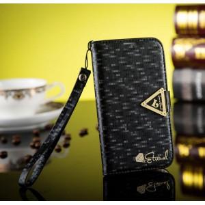 Samsung Galaxy S3 - etui na telefon i dokumenty - Leiers czarne