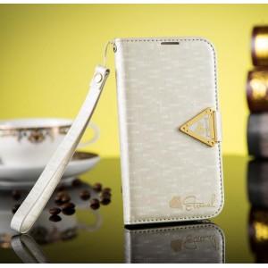 Samsung Galaxy S3 - etui na telefon i dokumenty - Leiers białe