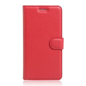 Motorola Moto G 4th Gen / Plus - etui na telefon i dokumenty - Kotelo czerwone