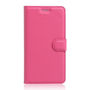 Motorola Moto G 4th Gen / Plus - etui na telefon i dokumenty - Kotelo różowe