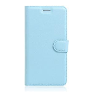 Motorola Moto G 4th Gen / Plus - etui na telefon i dokumenty - Kotelo niebieske