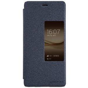 Huawei P9 Plus - etui na telefon i dokumenty - Nillkin Sparkle czarne
