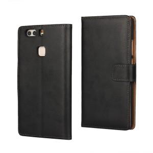 Huawei P9 Plus - etui na telefon i dokumenty - czarne