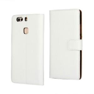 Huawei P9 Plus - etui na telefon i dokumenty - białe