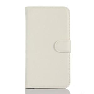 LG K10 4G - etui na telefon i dokumenty - Suoja białe