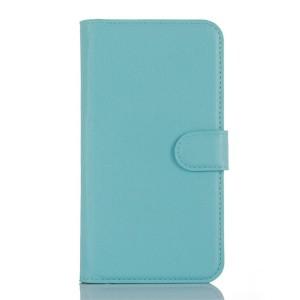 LG K10 4G - etui na telefon i dokumenty - Suoja niebieskie