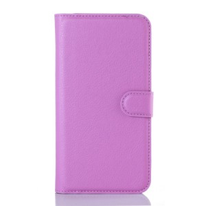 LG K10 4G - etui na telefon i dokumenty - Suoja fioletowe