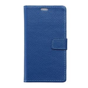 Sony Xperia X - etui na telefon i dokumenty - niebieskie