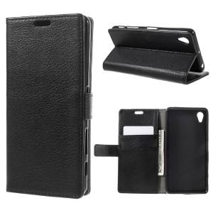 Sony Xperia X Performance - etui na telefon i dokumenty - czarne