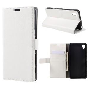 Sony Xperia X Performance - etui na telefon i dokumenty - białe
