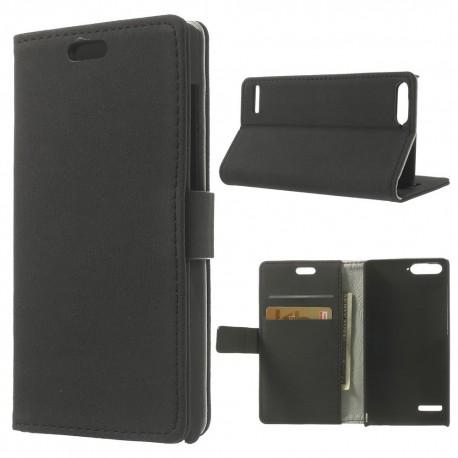 Huawei Ascend P7 Mini - etui na telefon i dokumenty - GG czarne