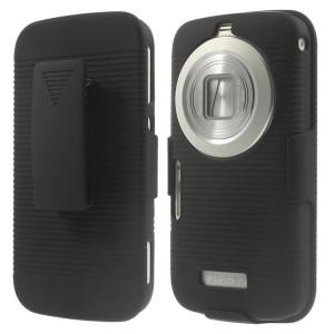 Samsung Galaxy K zoom - etui na telefon i dokumenty - Czarne