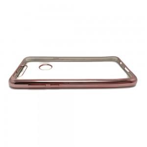 Huawei Honor 8 - etui na telefon - Przezroczysta Złota Róża