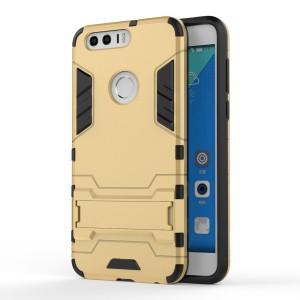 Huawei Honor 8 - etui na telefon - Dwuczęściowe Złote
