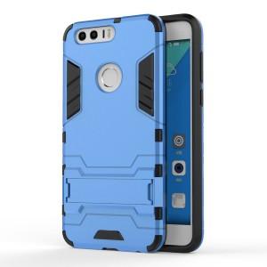Huawei Honor 8 - etui na telefon - Dwuczęściowe Niebieskie