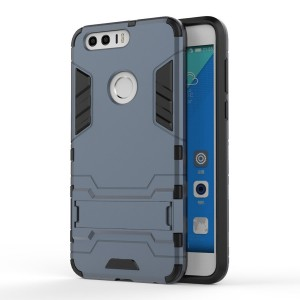 Huawei Honor 8 - etui na telefon - Dwuczęściowe Granatowe