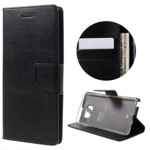 Samsung Galaxy Note 7 - etui na telefon i dokumenty - Bravo Czarne