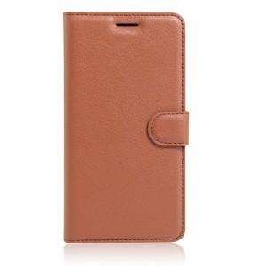 Huawei Honor 8 - etui na telefon i dokumenty - Brązowe