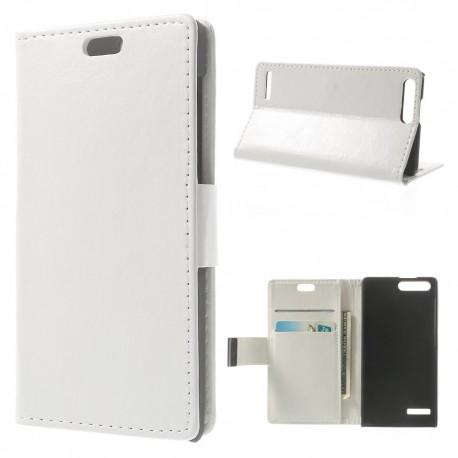 Huawei Ascend G6 4G - etui na telefon i dokumenty - CH białe