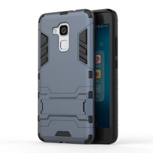 Huawei Honor 7 Lite - etui na telefon - Dwuczęściowe Ciemnoniebieskie