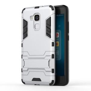 Huawei Honor 7 Lite - etui na telefon - Dwuczęściowe Srebrne